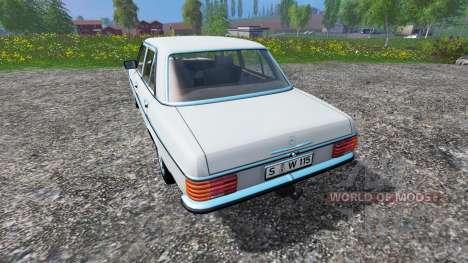 Mercedes-Benz 200D (W115) 1973 v1.1 pour Farming Simulator 2015