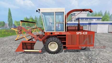 SPS 420 pour Farming Simulator 2015