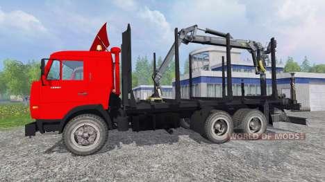 KamAZ-54115 [bois] pour Farming Simulator 2015
