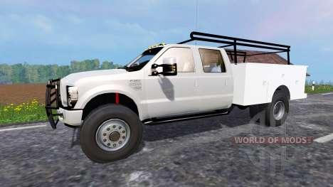 Ford F-350 [service truck] für Farming Simulator 2015