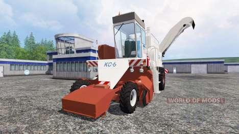 La CDP-6 pour Farming Simulator 2015