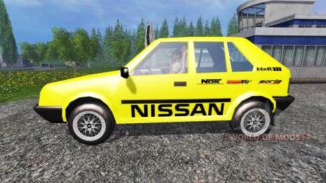 Nissan Micra [racing edition] v2.0 für Farming Simulator 2015