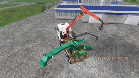 MAN TGS mobile hacker pour Farming Simulator 2015