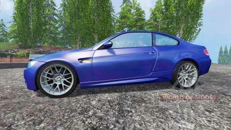 BMW M3 (E92) 2008 CID v1.1 für Farming Simulator 2015