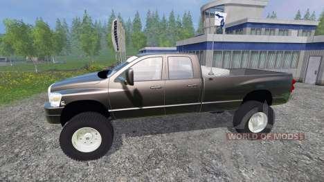 Dodge Ram 3500 2007 [wide stance] v1.2 für Farming Simulator 2015