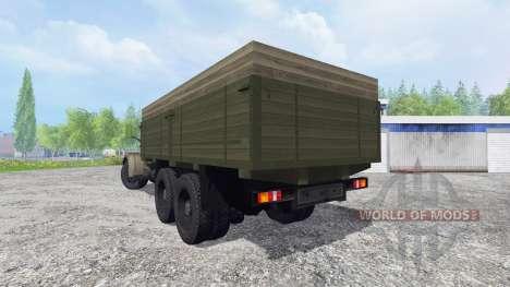 KrAZ-257 v1.2 pour Farming Simulator 2015
