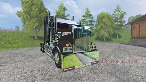 Kenworth T908 v1.1 pour Farming Simulator 2015