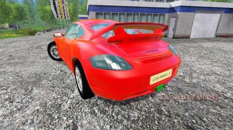 Porsche Cayman pour Farming Simulator 2015