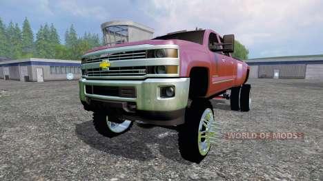 Chevrolet Silverado 3500 [lift] für Farming Simulator 2015