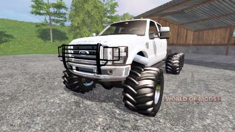 Ford F-350 8x8 pour Farming Simulator 2015