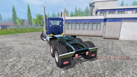 Peterbilt 379 [daycab truck] für Farming Simulator 2015
