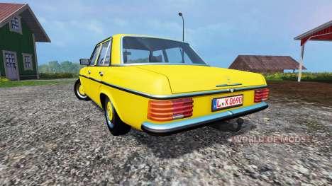 Mercedes-Benz 200D (W115) 1973 v1.2 für Farming Simulator 2015