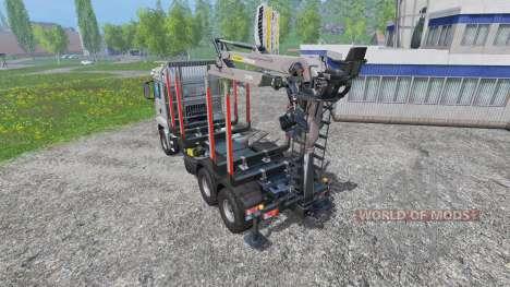 MAN TGS 18.440 [forestry] v2.0 pour Farming Simulator 2015