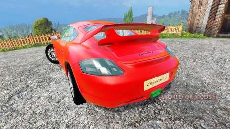 Porsche Cayman v1.2 für Farming Simulator 2015