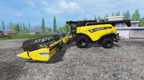 New Holland CR90.75 [Yellow Bull] v2.0 pour Farming Simulator 2015