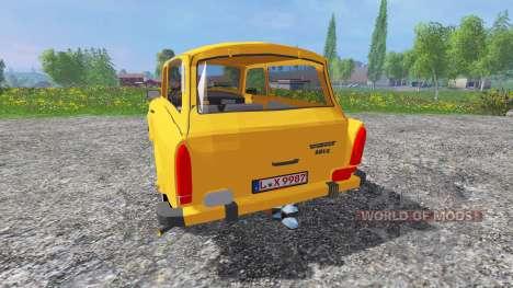 Trabant 601 S v0.9 pour Farming Simulator 2015
