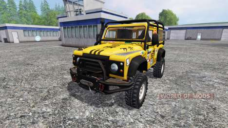 Land Rover Defender 90 für Farming Simulator 2015
