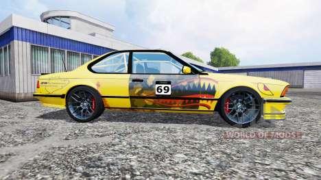 BMW M635CSi (E24) pour Farming Simulator 2015