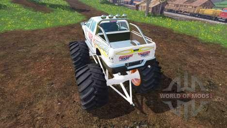 PickUp Monster Truck Jam v1.1 pour Farming Simulator 2015