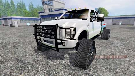 Ford F-350 [tracked] pour Farming Simulator 2015