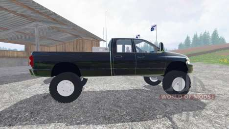 Dodge Ram 3500 2007 [wide stance] v2.0 pour Farming Simulator 2015