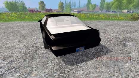 Pontiac Firebird Trans Am [K.I.T.T.] für Farming Simulator 2015