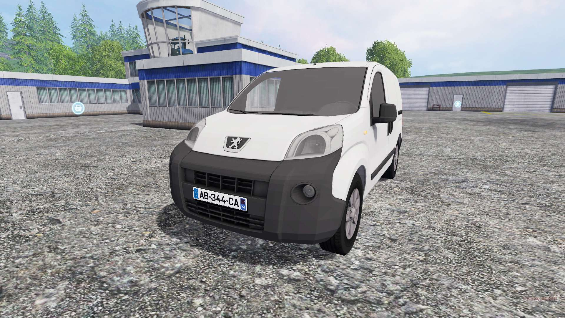 peugeot bipper pour farming simulator 2015. Black Bedroom Furniture Sets. Home Design Ideas