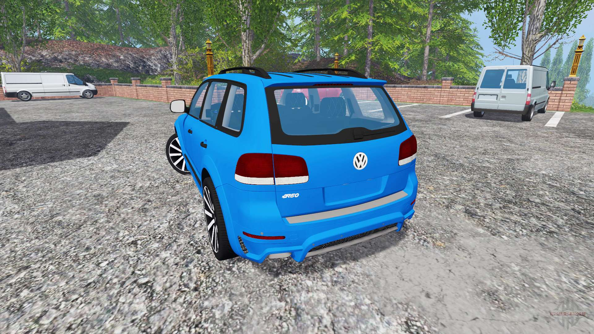 volkswagen touareg i f r farming simulator 2015. Black Bedroom Furniture Sets. Home Design Ideas