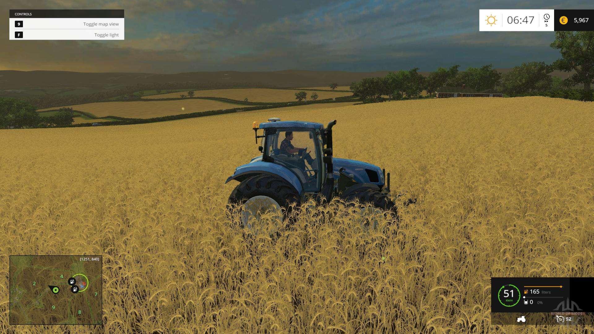 Baldaquino Karte Fur Landwirtschafts Simulator 2015 Mod