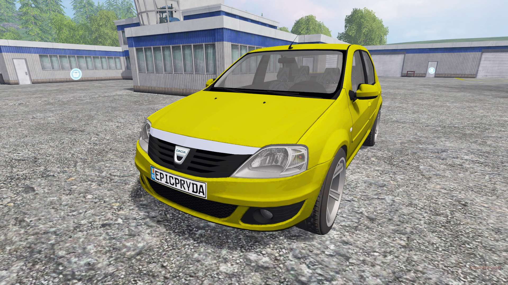 dacia logan pour farming simulator 2015. Black Bedroom Furniture Sets. Home Design Ideas