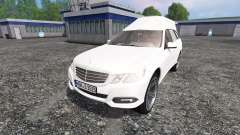 Mercedes-Benz E350 CDI Estate [hearse] pour Farming Simulator 2015