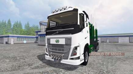 Volvo FH16 [timber carrier] pour Farming Simulator 2015