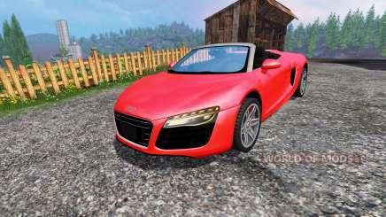 Audi R8 Spyder für Farming Simulator 2015