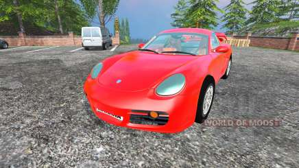 Porsche Cayman [final] für Farming Simulator 2015