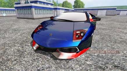 Lamborghini Murcielago LP 670-4 SuperVeloce für Farming Simulator 2015