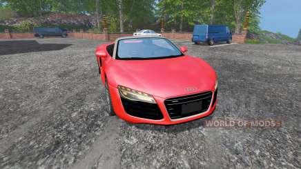 Audi R8 Spyder v1.1 pour Farming Simulator 2015