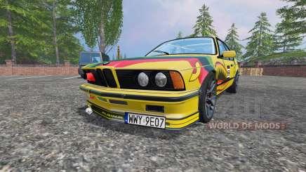 BMW M635CSi (E24) v2.0 pour Farming Simulator 2015