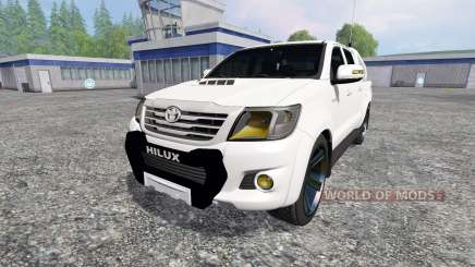 Toyota Hilux [city version] pour Farming Simulator 2015