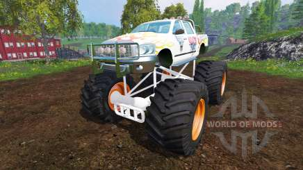 PickUp Monster Truck Jam v1.1 pour Farming Simulator 2015