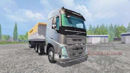 Volvo FH16 2012 [trailer] pour Farming Simulator 2015