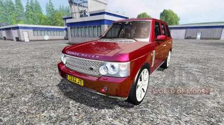 Range Rover Supercharged 2009 für Farming Simulator 2015