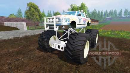 PickUp Monster Truck Jam pour Farming Simulator 2015