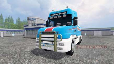 Scania T164 [tanker] pour Farming Simulator 2015