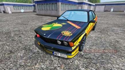 BMW M635CSi (E24) [Mammoet Auto Sport] pour Farming Simulator 2015