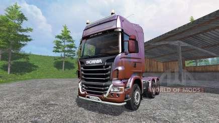 Scania R730 [Topline] v5.0 für Farming Simulator 2015