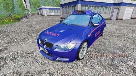 BMW M3 (E92) Notartzt v1.2 für Farming Simulator 2015
