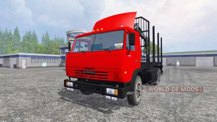 KamAZ-54115 [Holz] für Farming Simulator 2015