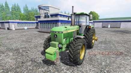 John Deere 4755 v2.0 pour Farming Simulator 2015
