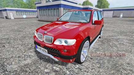 BMW X5 2004 pour Farming Simulator 2015