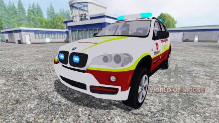 BMW X5 NEF pour Farming Simulator 2015